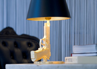 Gun Lamp Bedside Tischlampe