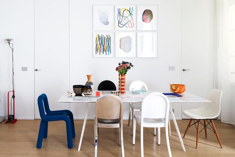 Viele Pariser Wohnflächen bieten einen idealen Rahmen für spannende Stilmixe