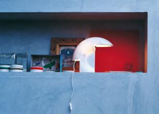 Biagio Tischleuchte aus Marmor