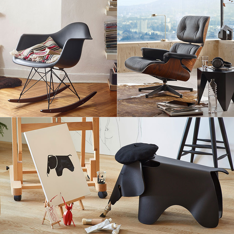vitra eames chair und andere designklassiker the qvest. Black Bedroom Furniture Sets. Home Design Ideas