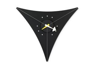 Triangle Clock Black Edition