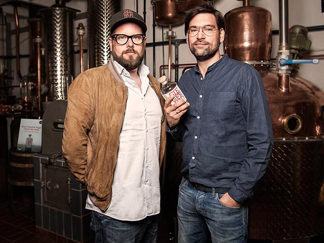 Rheinland Distillers – Raphael Vollmar (l.) & Gerald Koenen (r.)