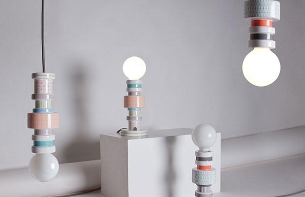 Die Moresque Tischlampe von Seletti