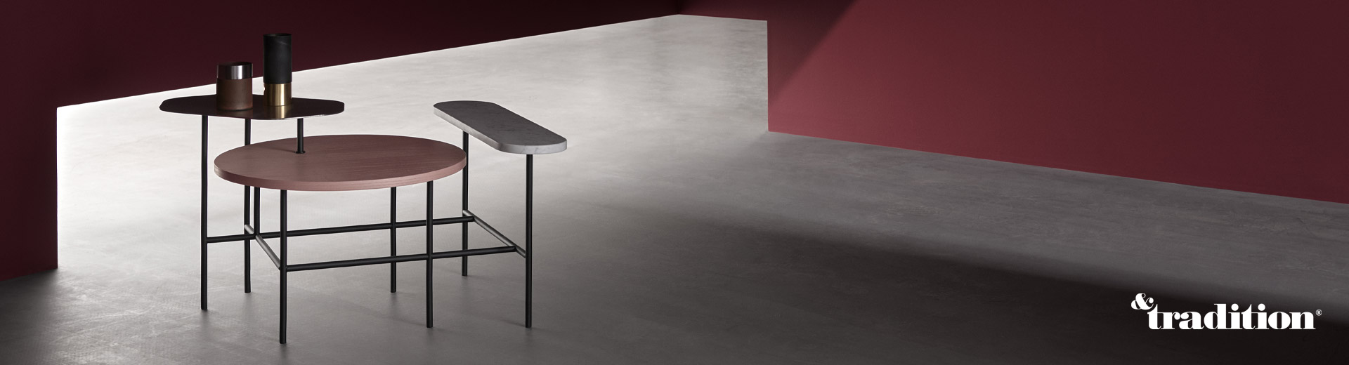 Der Palette Table Beistelltisch JH6 von Designer Jaime Hayon für &tradition
