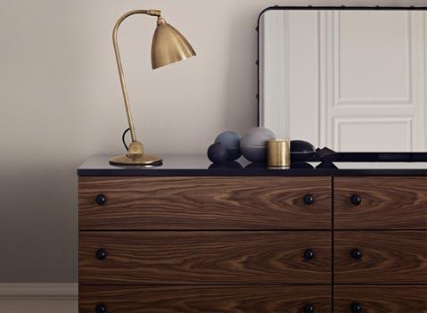 Der Grossmann Dresser aus edlem Nussbaum-Furnier