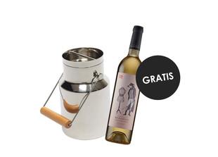 Weinkühler + gratis Wein