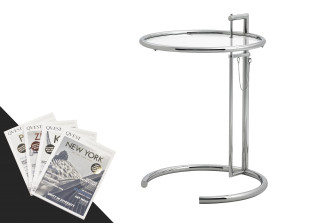Qvest Special: Adjustable Table + 4 Qvest Magazine