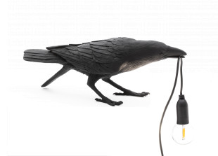 Bird Lamp Playing Tischleuchte
