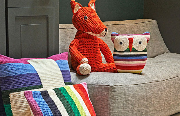 Der von Hand gefertigte Fuchs ist Teil der Accessoire-Kollektion von Anne-Claire Petit