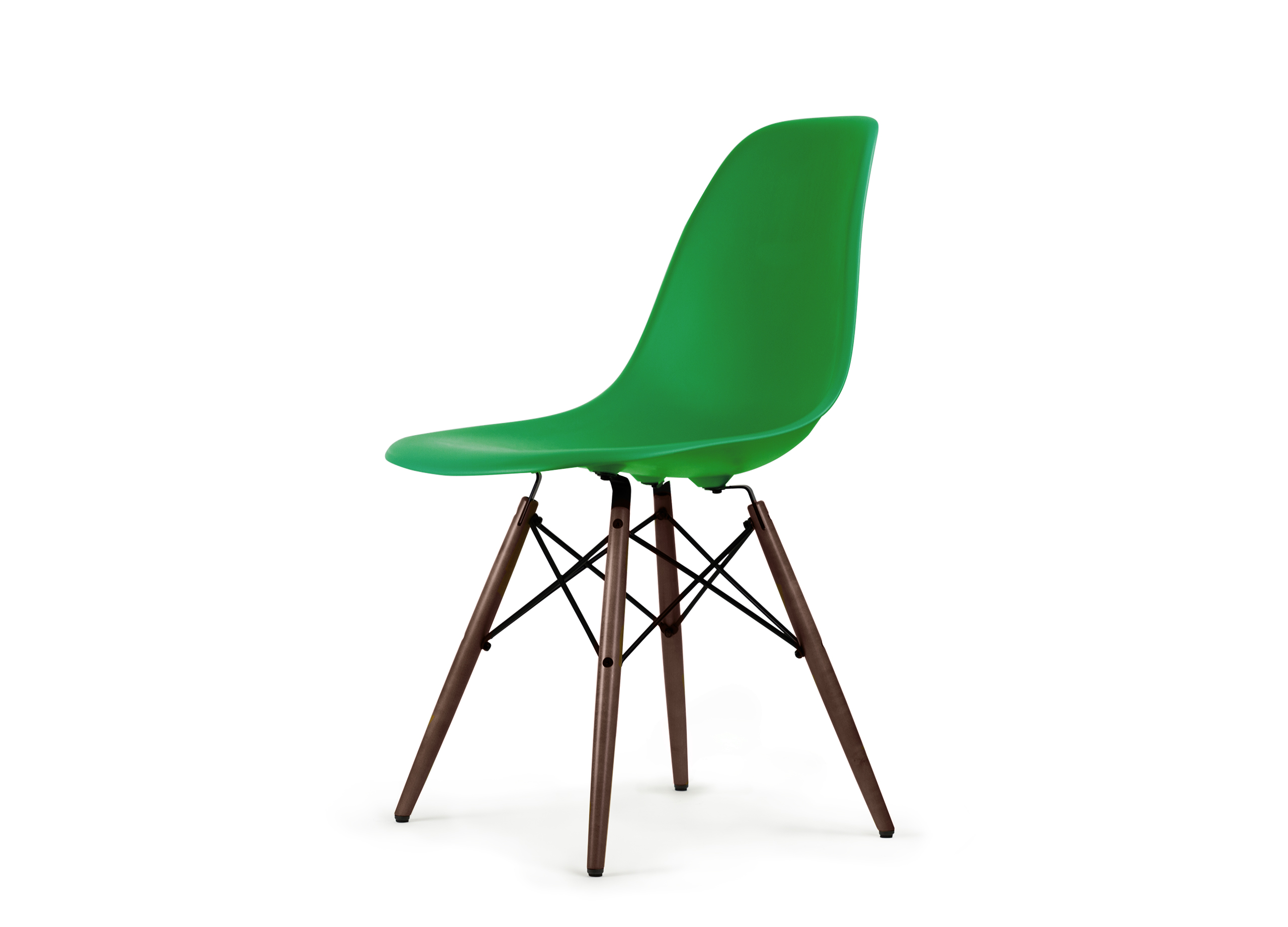 Vitra dsw eames plastic side chair the qvest shop for Vitra eames reproduktion