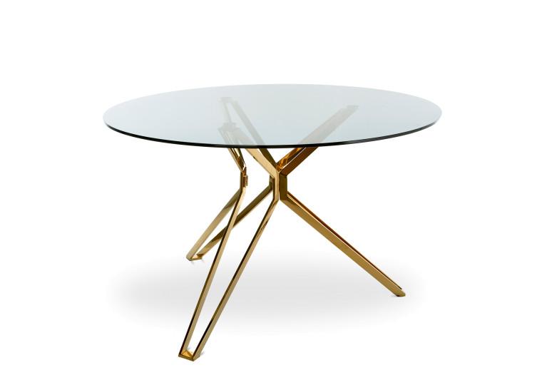 qvest selection | round glass & gold esstisch | the qvest shop, Esstisch ideennn