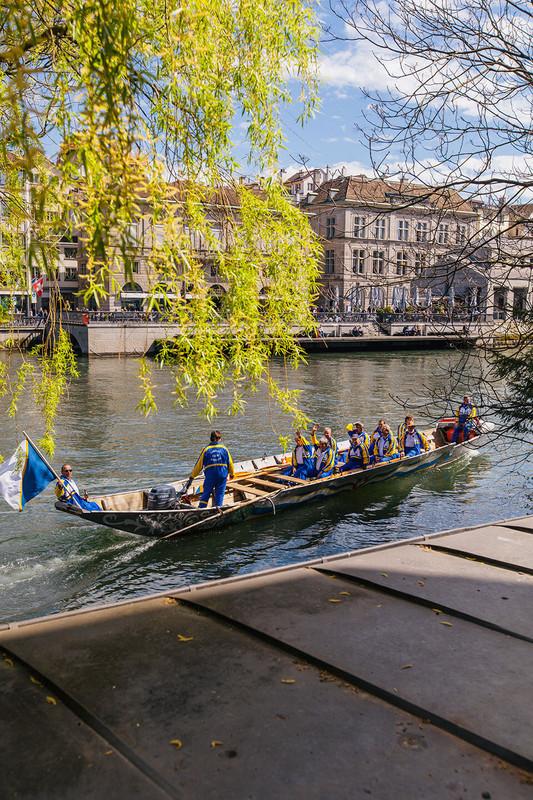 Zünfte und Zürich gehören zusammen wie Pech und Schwefel