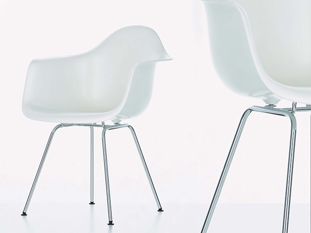 Eames Dining Chairs - White