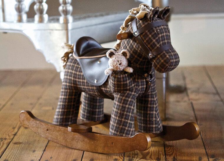 Rufus & Ted - Schaukelpferd für Kinder