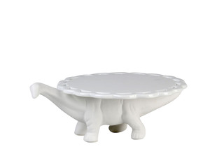 Kuchenständer aus Porzellan