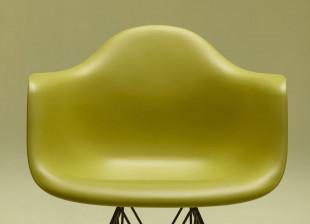 DAR Eames Plastic Armchair alte Höhe