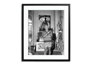 Gerahmter Fotodruck Picasso At Home