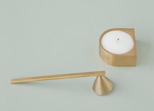 Kerzenlöscher aus Messing
