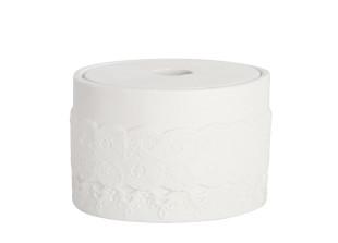 Keramikdose mit Deckel