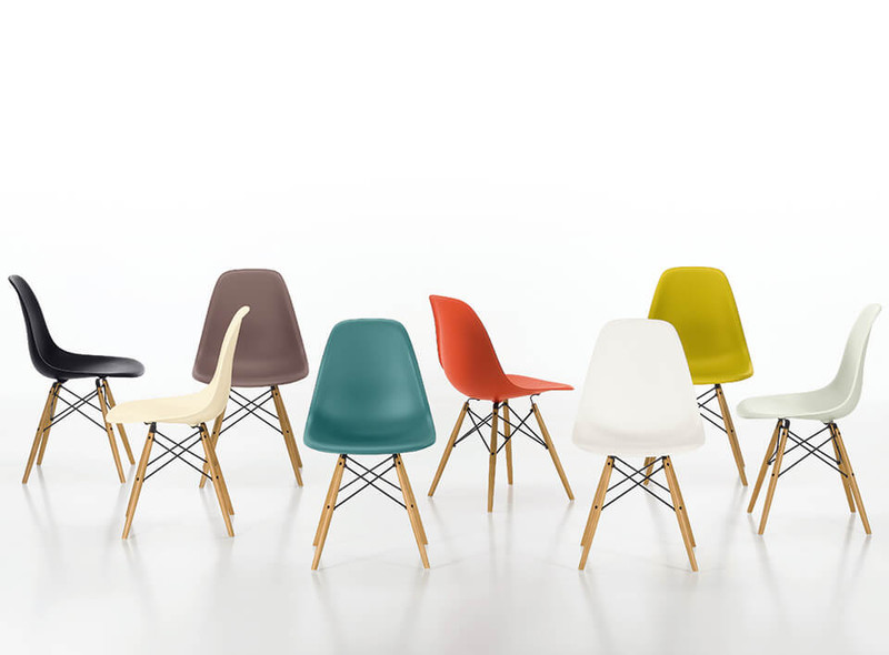 DSW Eames Plastic Sidechairs