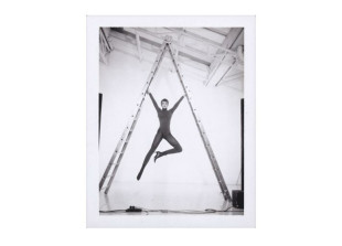 Acrobat for Wolford, Paris 1993