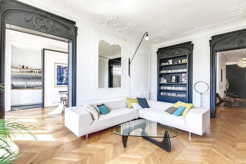 Apartment im Haussmann-Stil