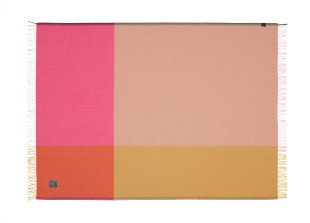 Colour Block Blanket Wolldecke