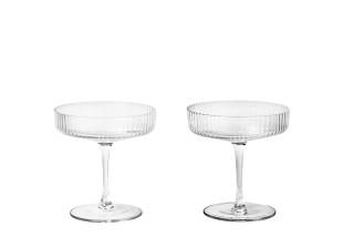 Ripple Champagnerschalen (2er Set)