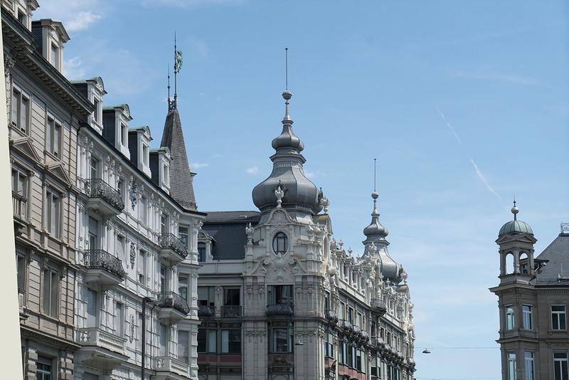 Natürliches Wachstum: Zürichs Innenstadt