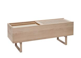 Eiche und Messing Sideboard