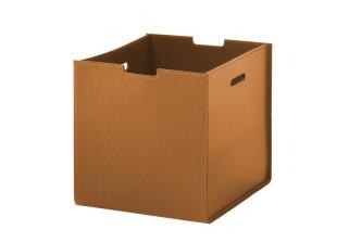 Box aus Kernleder