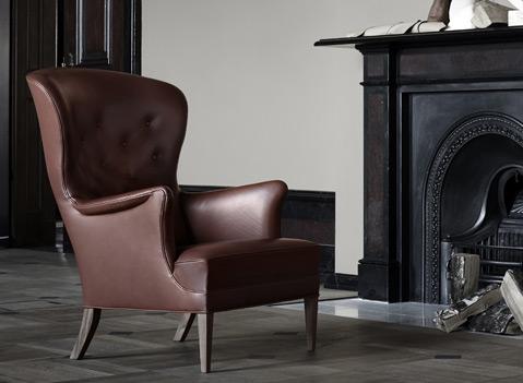 Der 1930 entworfene Heritage Chair ist ein wahres Meisterstück.
