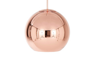 Copper Round Pendelleuchte