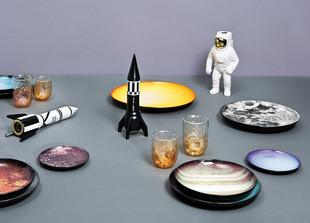 Cosmic Diner Starman Porzellanvase