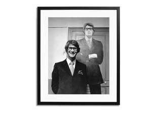 Gerahmter Fotodruck Yves St. Laurent 1966