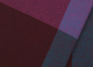 Colour Block Blanket Wolldecke