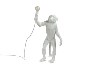 Standing Monkey Lamp Stehlampe