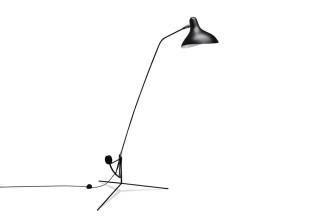 Mantis Stehlampe Dreibein-Fuss