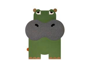 Animal Teppich Nilpferd