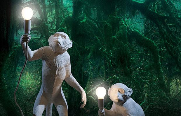 Die humorvollen Monkey Lampen von Seletti