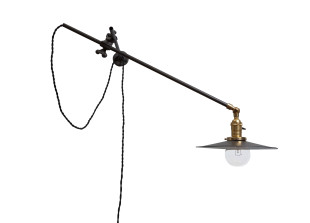 Wandlampe mit Gelenkarm