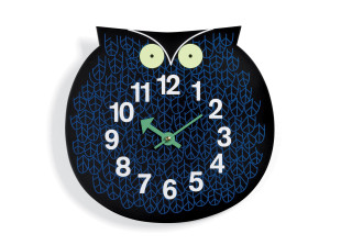 Omar the Owl Wanduhr