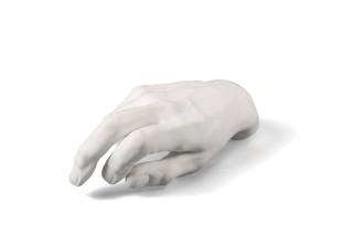Male Hand Skulptur
