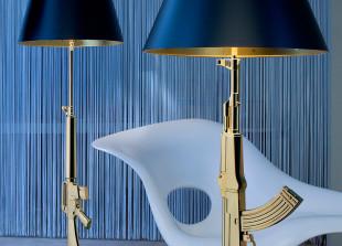 Gun Lamp Lounge Stehlampe