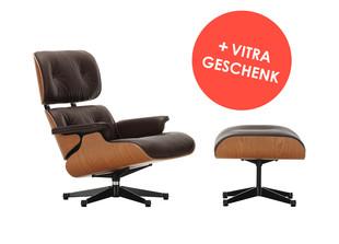 Lounge Chair & Ottoman + Vitra Geschenk