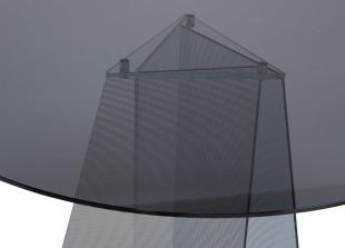 Trace Glass Esstisch