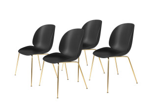 Beetle Chair ungepolstert 4er Set
