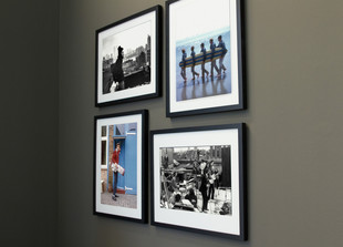 Gerahmter Fotodruck Rooftop Beatles