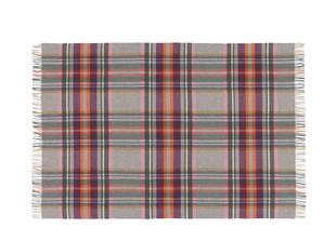 Decke aus Lammwolle